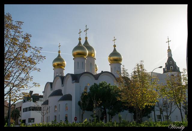 Visitamos la Iglesia ortodoxa rusa de Madrid
