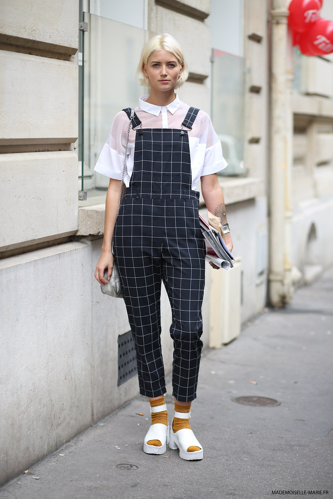 Vanille Verloes at Paris fashion week