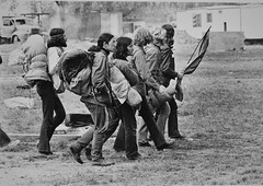 Protesters Leave Camp After Eviction by Police: Mayday 1971