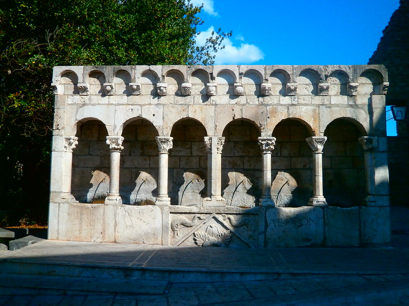 13th century fountain