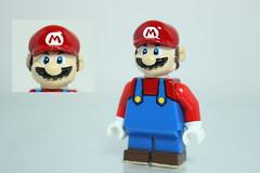 Custom LEGO Mario