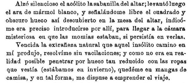 Artículo sobre las Momias de San Román por Rodrigo Amador de los Ríos publicado en 1912 en La España Moderna