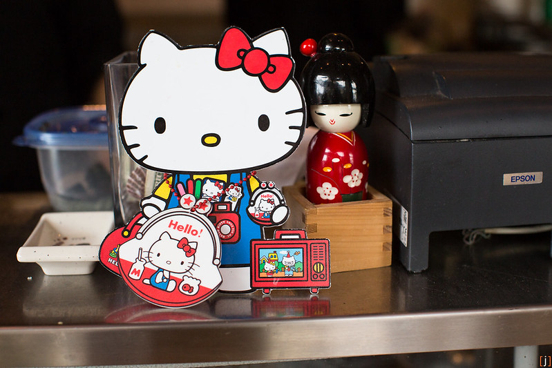 Zip Sushi & Izakaya. Little Tokyo, Los Angeles, CA. Hello Kitty Hungry Hunt.