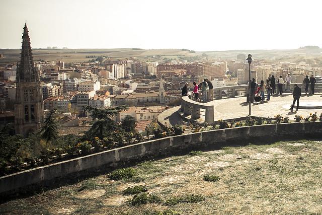 Castillo y mirador de Burgos