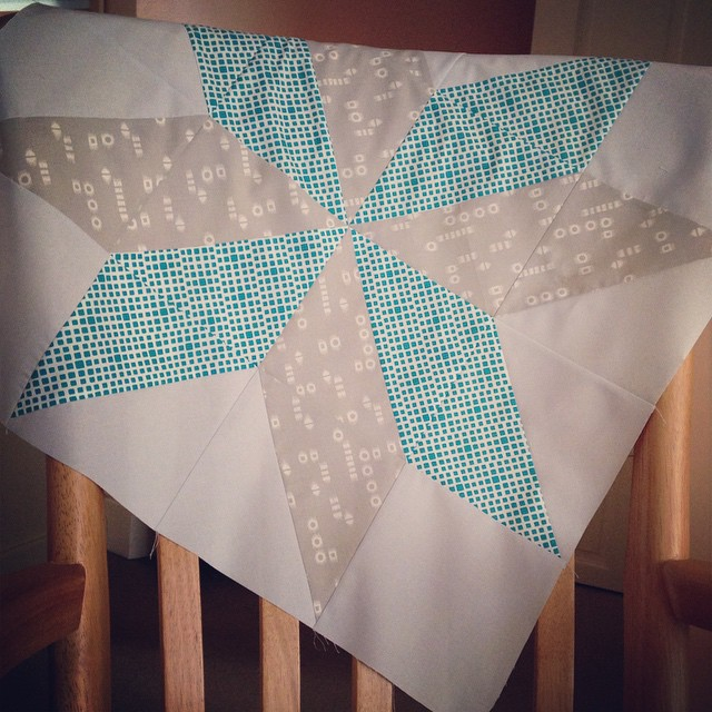 This just went off to the post office for you, @metroquilter ! Hope you like it! :) #BeeEuropa