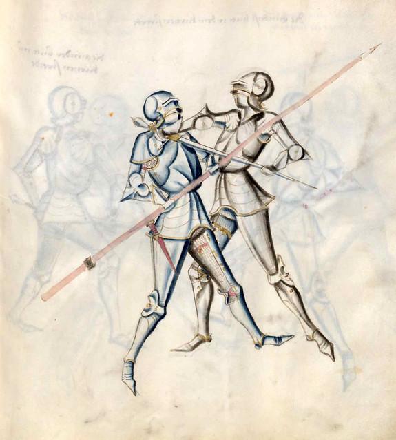 003-Kal Paulus Fechtbuch gewidmet dem Pfalzgrafen Ludwig- BSB Cgm 1507- Bayerische StaatsBibliotehek