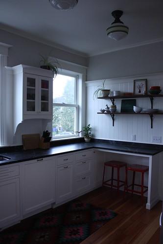 Kitchen, Southwest Corner