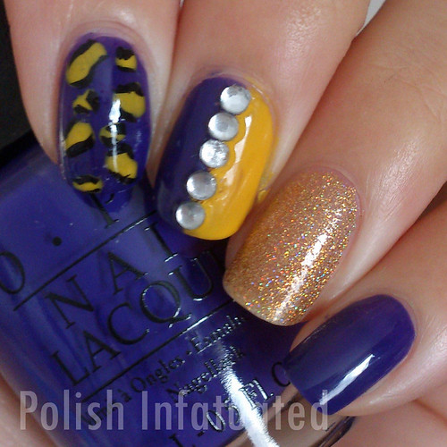 yellow & purple skittle