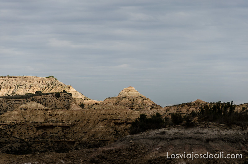 paisaje de los Monegros
