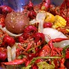 11. K is for... krawdads ~ #crawfish = #Southern #crack  #nom lots of garlic & #Cajun spices y'all