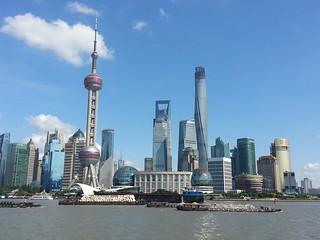 Pudong o distrito financiero