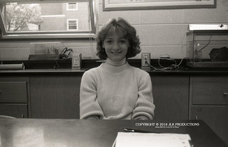 Tri-X Files 84_26.23: Leah in Fifth Period Earth Science