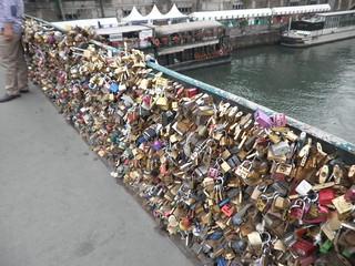 Candados en París