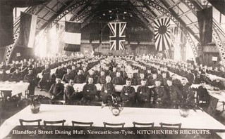 Recruits in the Great Hall, Discovery Museum