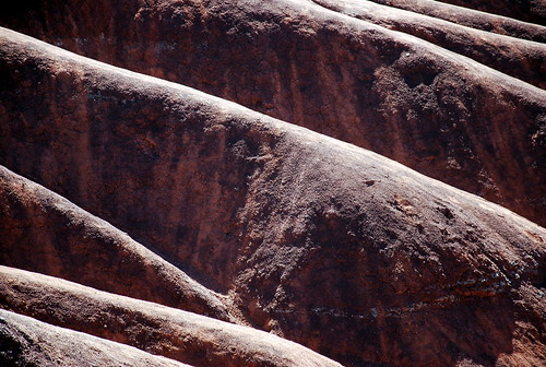 Cheltenham Badlands hill formation detail