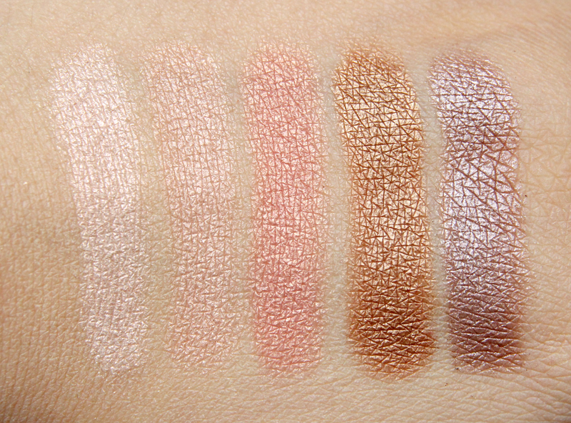 MAC Mortal Veluxe pearlfusion shadow palette swatch