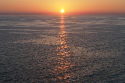 ocean sunset orange sun beach water florida olympus fl panamacitybeach panamacity omd m43 em10 microfourthirds