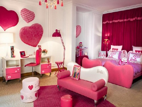 Barbie Bedroom cute furniture for teen girls pic 006