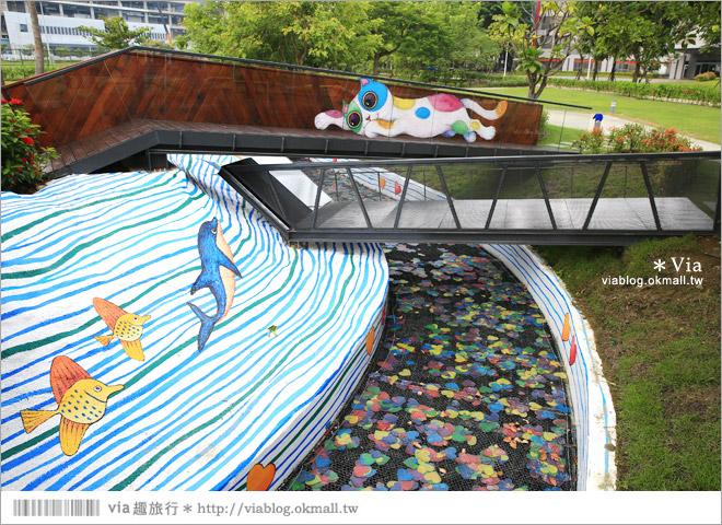 【南科幾米】台南|台積電南科幾米裝置藝術小公園~願望盛開‧許諾之地20