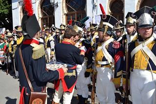 3.000 soldados españoles y británicos resistieron el asalto de 10.000 franceses.