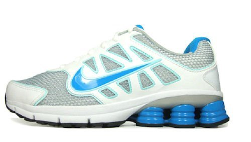 huge discount 44457 3fb18 ... Nike Women s Shox Qualify +2 Running Shoe White Blue Size 8 New   by  runningshoesusa