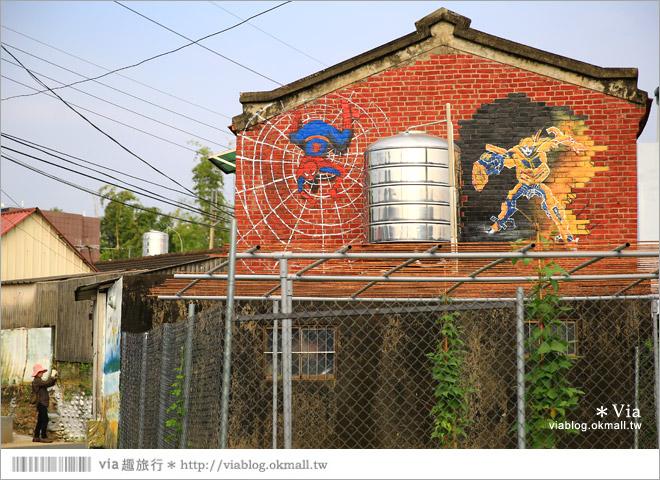 【關廟彩繪村】新光里彩繪村~在北寮老街裡散步‧遇見全台最藝術風味的彩繪村66