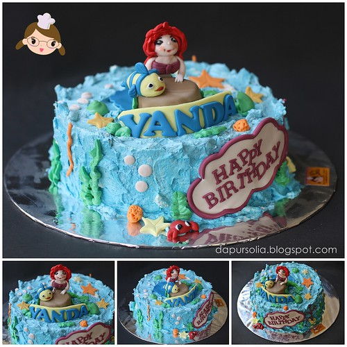 Cake Ariel ~ Vanda 6 y.o.