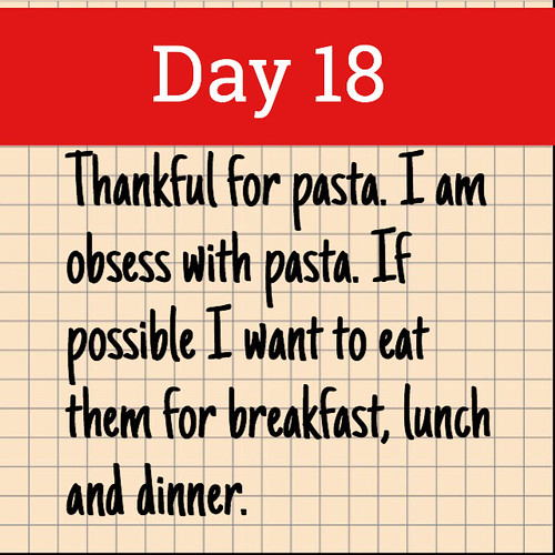 Day 18. Pasta