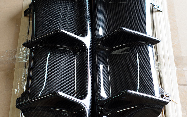 Rkp Carbon Fiber Diffusers For Bmw F8x M3 Amp M4 1x1 Weave