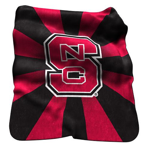 NC State Wolfpack NCAA Raschel Blanket