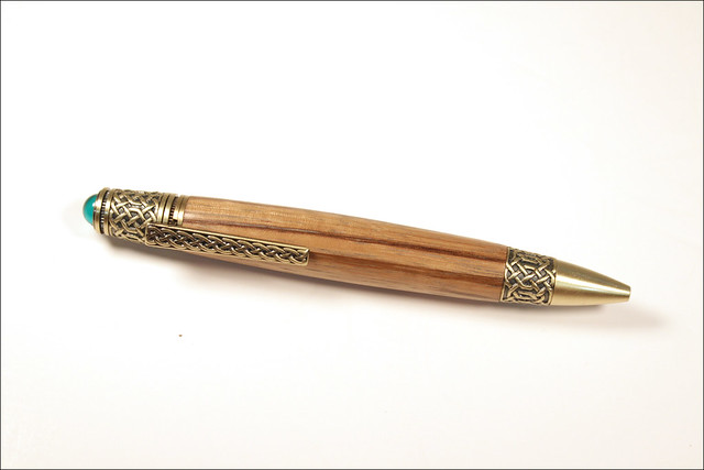 Celtic - zebrawood