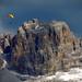 Volteggio sulla Val Badia