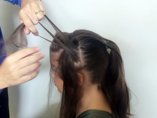 Anna's Coronation Day Hair