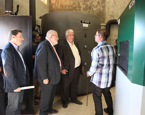 COMSA EMTE constructs a biomass boiler with a heating network for the municipality of Balsareny
