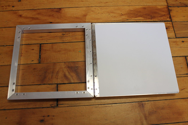 Carrier Frame with Plastic