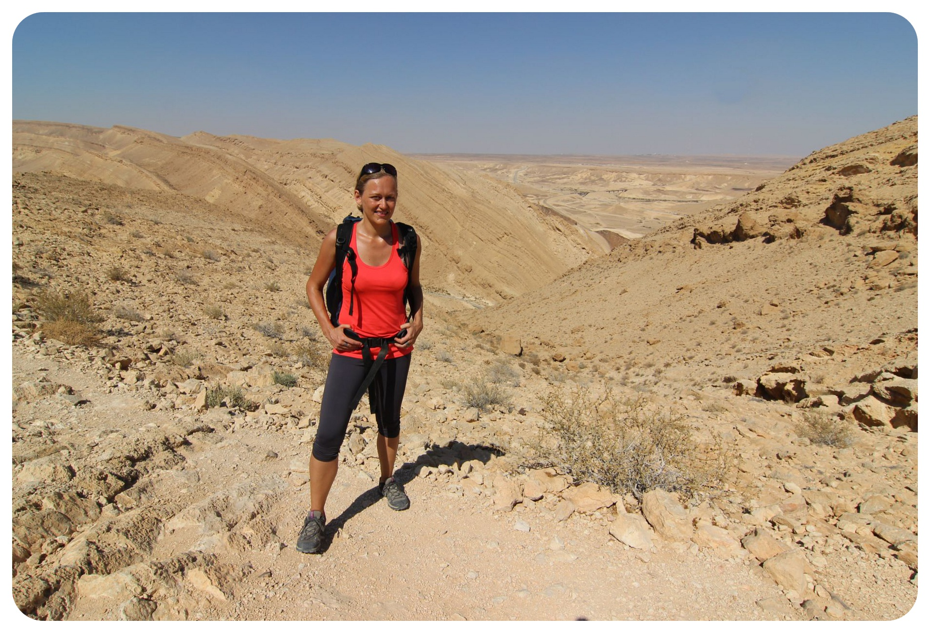 dani israel national trail negev desert hike
