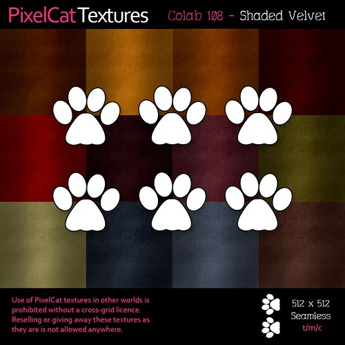 PixelCat Textures - Colab 108 - Shaded Velvet