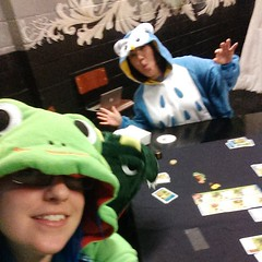 Next selfie! This time froggy!