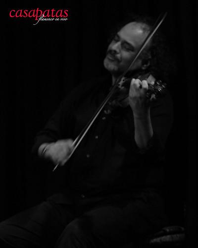 El violinista David Moreira. Foto: Martín Guerrero