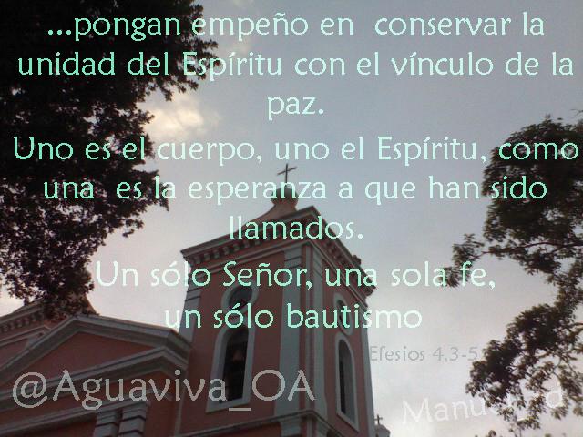 Efesios 4,3-5