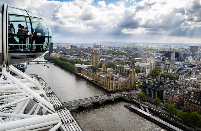Big Ben depuis le London Eye