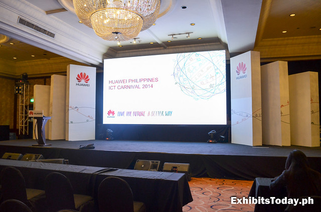 Huawei Philippines ICT Carnival Philippines 2014 stage