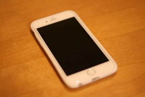 AndMesh メッシュケース for iPhone 6 White