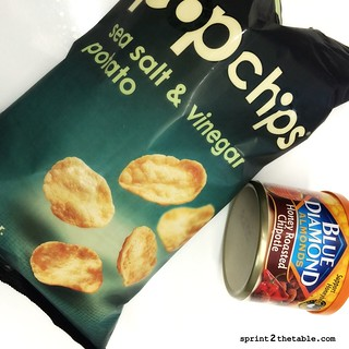 Pop Chips and nuts
