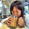 slurping teh tarik on a cool friday evening #tgif #tehtarik #tea #halalsg