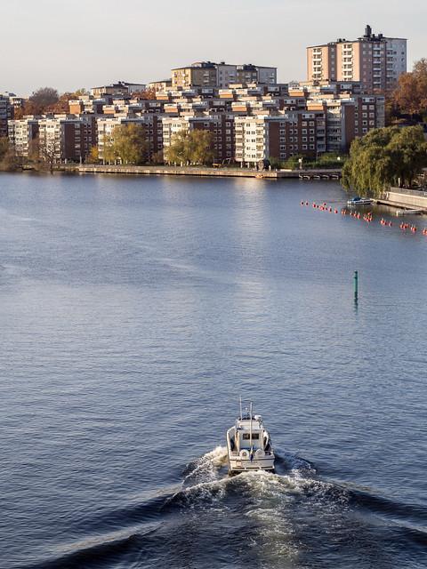 Från Liljeholmsbron