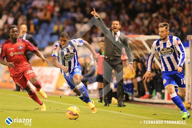 Liga BBVA. R.C.Deportivo 1 - Getafe 2