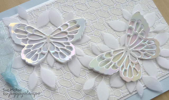 Sue McRae Butterfly Wedding Closeup