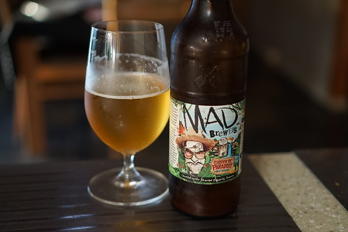 "Mad Brewers ""Garden De Paradisi"" Witbier."