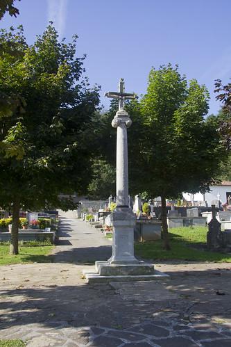 Crucero del cementerio de Elizondo